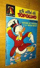 ALBI DELLA ROSA-ALBI DI TOPOLINO # 774-PAPERON DE PAPERONI E LA MOSSA MOSSA-1969