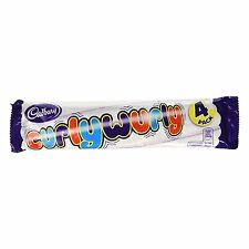 Cadbury Curly Wurly Chocolate Bar 104 g (Pack of 4)