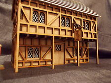 WARGAME SCENERY TUDOR WHITE HORSE TAVERN KIT WOULD SUIT WARHAMMER STYLE  GAMES