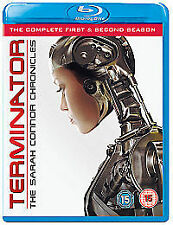 Terminator - The Sarah Connor Chronicles - Series 1-2 (Blu-ray, 2009, 8-Disc...