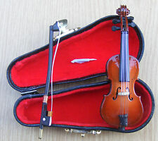 1:12 TH LEGNO CELLO & BLACK CASE bambole Casa In Miniatura Strumento Accessorio