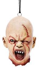 Zombie Baby Monster Kopf riesiger Latex Säuglings Schädel Hallowen Horror Deko