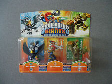 Skylanders Giants (ERROR/MISTAKE) 3 Pack:Sonic Boom, Sprocket & Stump Smash  NEW