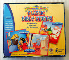 The Beginners Bible ~ Classic Bible Stories ~ PC & Mac Learing Game ~ Music RARE
