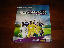 PANINI EMPTY & UNUSED ALBUM  CYPRUS FOOTBALL LEAGUE PODOSFAIRISTES 2016-17 (NEW)
