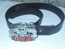 HARLEY DAVIDSON BELT WITH BUCKLE SIZE SMALL FREE SHIPPING