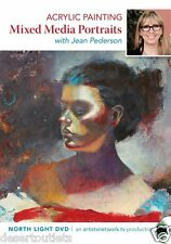 NEW! Acrylic Painting Mixed Media Portraits with Jean Pederson [DVD]
