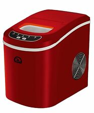 iGloo ICE102-RED Portable Countertop Compact 2.3 Quart Ice Maker w/ LED controls
