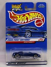 HOT WHEELS MX48 Max Steel 2000 First Editions 24375 Convertable New