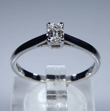 GIA Certified PLATINUM 0.30ct Diamond E, vs1 Solitario Anello Di Fidanzamento RRP £ 1450