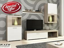 TV Wall Unit Folk New Modern Set of Living room Furniture FREE DELIVERY