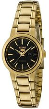 Seiko 5 SYME48 Women's Gold Tone Stainless Steel Day Date Automatic Watch