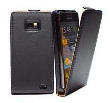 Samsung Galaxy S2 (Plus) GT-I9100/I9105 Tasche Schutz Hülle Case Cover + Folie