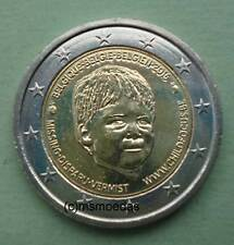 Belgien 2 Euro Gedenkmünze 2016 Child Focus commemorative coin Euromünze