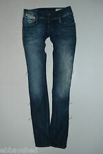 "NEW DIESEL Ladies MATIC 00T8X stretch SKINNY JEANS woman W25 L32 size 6-8 32""leg"