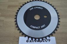 Compact Disc CD ChainRing 44t Silver Black BMX Cruiser Road Bike Sprocket