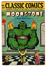 CLASSIC COMICS #30 4.5 CREAM PAGES GOLDEN AGE MOONSTONE 1ST EDITION