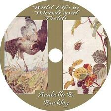 Wild Life in Woods and Fields, Arabella Buckley Childrens Audiobook on 1 MP3 CD