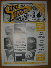 CARD TIMES MAGAZINE FORMERLY CIGARETTE CARD MONTHLY No 122 MAY 2000