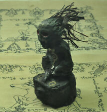Scary Ghost Whisperer Black magic The statue of the spirit Hongprai Thai Amulet