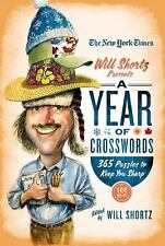 Year of Crosswords : 365 Puzzles to Keep Your Sharp by New York Times Staff...