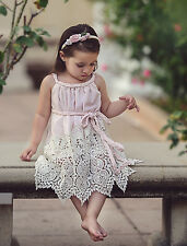 NEW DOLLCAKE PINK SHOWER HER WITH HEARTS  DRESS Sz 6