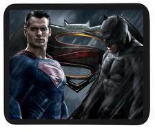Custom 'Batman vs Superman' Mouse Mat / Dinner Mat - PC / Laptop Accessory Gift