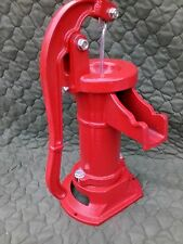 New Heavy Duty Red Well Pump Hand Operated Pitcher Pump 25 Ft Lift