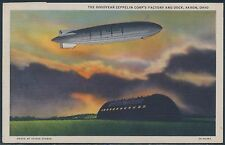 #552 ON MULTICOLORED GOODYEAR ZEPPELIN POSTCARD USED BS2504