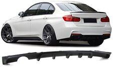 BMW F30 F31 F35 316 318 320 328 D Performance diffuser rear Sport bumper Spoiler