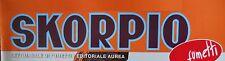 WATANTANKA - Zanotto & Oesterheld Raccolta completa inserti SKORPIO 1981 [G494]