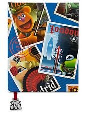 Disney Store Muppets Most Wanted Full Color Hard Bound Notebook Diary Journal