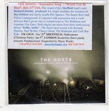 (GE230) The Hosts, September Song - 2013 DJ CD