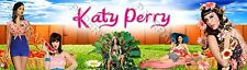 Personalized Katy Perry Name Poster Custom Banner 8.5 x 30 Home Decor Art Glossy