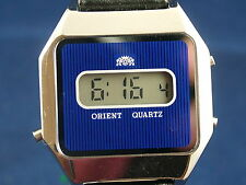 Vintage Orient Early Digital LCD Watch 1976 NOS New Old Stock