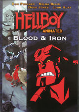 HELLBOY: BLOOD AND IRON - Animated DVD Movie + Comic *** Brand New & Sealed ***