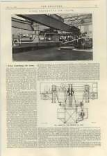 1924 Five Ton Underhung Jib Crane Gas Engineering