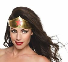 Wonder Woman Tiara Headpiece Adult Costume Accessory NEW Wonder Woman