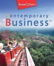 Contemporary Business by David L. Kurtz and Louis E. Boone (2004, Hardcover