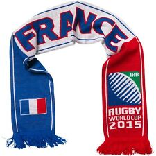 France 2015 Rugby Union World Cup Knitted Scarf, Hosts England IRB, Les Bleus