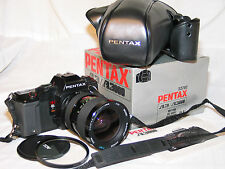 PENTAX A3000 SLR CAMERA W/ macro zoom LENS + case  EXCELLENT +++ clean