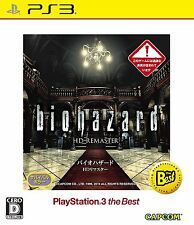 NEW PS3 Biohazard / Resident Evil HD Remaster BLJM-55085 PS3 the Best Japan