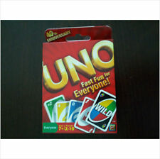 Mattel UNO Card Game 40th Anniversary Edition Play by Matching Great for Travel