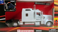NewRay 1:32 scale Kenworth W900 diecast model trailer truck Cab White N201