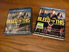 Bleed for This: Miles Teller (Blu-ray + DVD + Digital HD) New + I Ship Faster