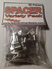 Aluminum Spacer Variety Pack 3mm Team KNK Hardware SCX10 RC4WD Axial Wraith BULK