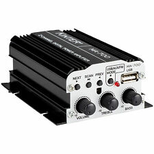 Kinter MA-700 2-Channel Mini Amplifier with Remote USB MP3 F