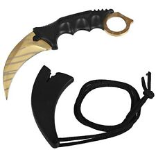 CS GO Real Game Sheath cs go knife Combat Claw karambit Camping Survival knife