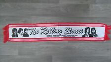 The Rolling Stones European Tour 1982 Vintage music scarf sjaal 2