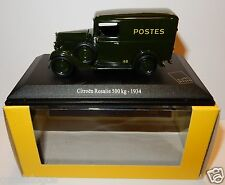UNIVERSAL HOBBIES UH CITROEN ROSALIE 1934 POSTES POSTE PTT 1/43 IN LUXE BOX